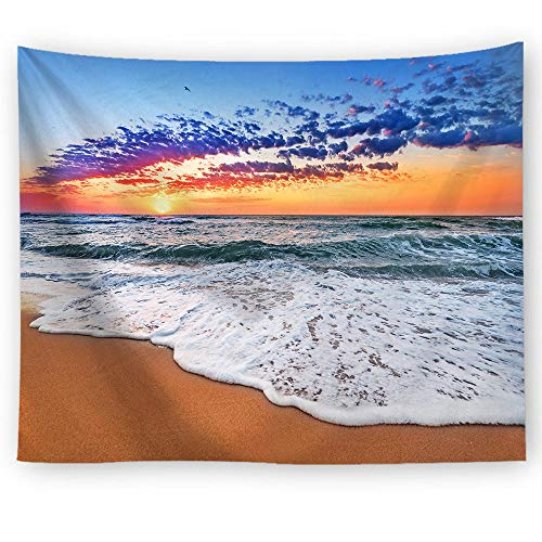 ZYLSZBD Bohemian Wall hanging Bedding TapestryDecorative cloth sunrise and sunset printing-Picture 2_150X130cm