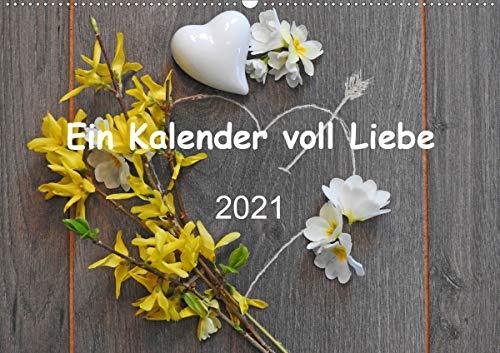 Ein Kalender voll Liebe (Wandkalender 2021 DIN A2 quer)