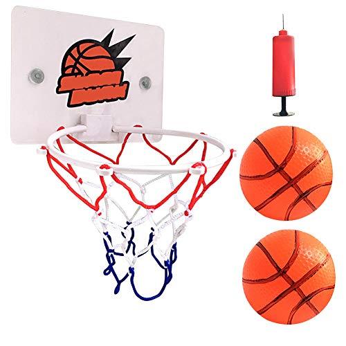 WWMH Tablero Baloncesto,(3 Piezas) Mini de Aro de Baloncesto de Interior,Soporte de Pared,Baloncesto para Adultos,Montaje en Pared Canasta,NiñOs,Adultos,RelajacióN en La Oficina