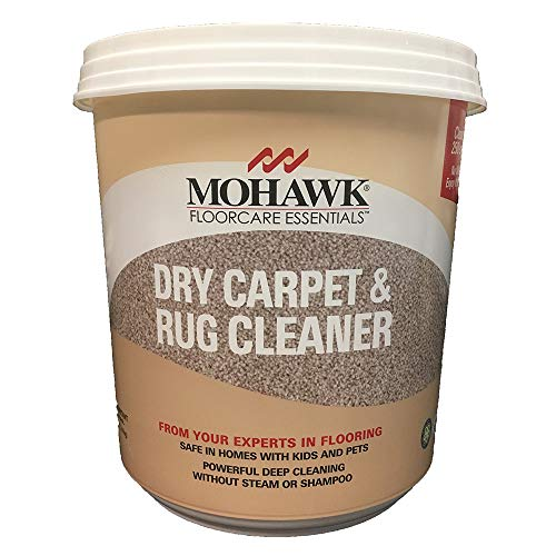 New Mohawk Floorcare Essentials Dry Carpet and Rug Powder Cleaner 2.5 Lbs Cleans Up to 250 Sq. Feet