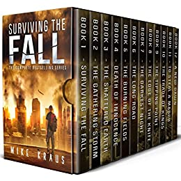 Surviving the Fall Box Set: The Complete Surviving the Fall Series - Books 1-12 by [Mike Kraus]