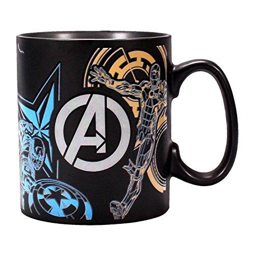 Marvel Avengers Wärme wechselnde Becher - Team