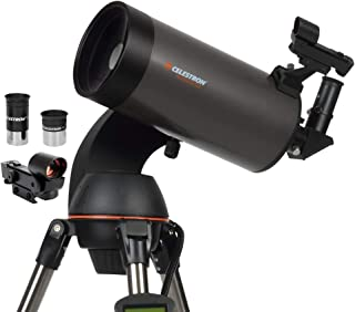 Best Celestron - NexStar 127SLT Computerized Telescope - Compact and Portable - Maksutov-Cassegrain Optical Design - SkyAlign Technology - Computerized Hand Control - 127mm Aperture Review