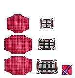 Fortesan Telo di ricambio per brandina sempretesa - Per il lettino del tuo amico a 4 zampe (Rosso, 115x75)