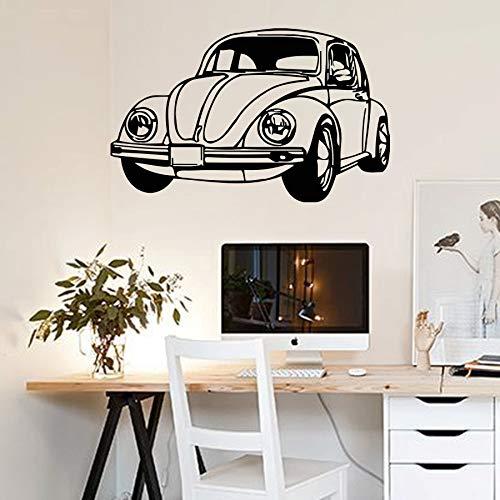 Tianpengyuanshuai Vinyl Aufkleber Retro Auto Auto Motor Wandaufkleber Wanddekoration Aufkleber Haushalt Aufkleber 85X112cm