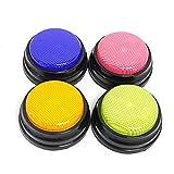 Answer Buzzer, Game Quiz Game Buzzer Botón de conversación grabable con recursos de Aprendizaje con función led Respuesta Zumbadores pulsadores de Colores