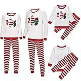 RAHEEM Juego de pijama familiar de Navidad a juego, ropa de dormir estampada con calcetines de Navidad a juego, juego de ropa de dormir para mujeres y hombres (color: hombres, tamaño: 4XL)