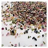 YSJJJBR Fluorita Gran Gran Cristal y procesamiento de Piedra Rose Cuarzo Amatista Labradorite Decoración de la decoración del Acuario Gránulos de Grava Bricolaje Accesorios