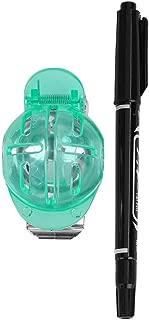 Tbest Alineación Plantilla Marcador de Pelota de Golf Golf Ball Liner Line Alignment Marker Golf Template Dibujo Alineación Herramienta Putting Tool Golf Entrenamiento Accesorios Verde, Rojo, Azul