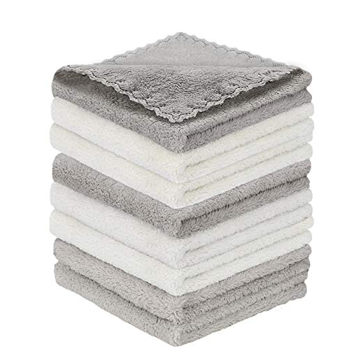 Microfiber Cleaning Cloth Softer Highly Absorbent, Lint Free Streak Free for House, Kitchen, Car,...