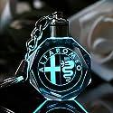Fitracker 2018 Auto schlüsselanhänger Zubehör Kristall LED Lichtwechsel schlüsselanhänger mit Geschenkbox