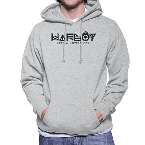 Cloud City 7 WarBoy Car Sticker Mad Max Men's Hooded Sweatshirt