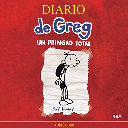 Diseño de la portada del título Diario de Greg 1. Un pringao total