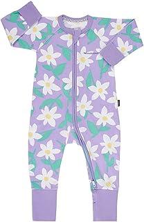 Bonds Baby Wondersuit 2 Way Zipper Sleep/Play Fold Over Feet/Cuffs Footies
