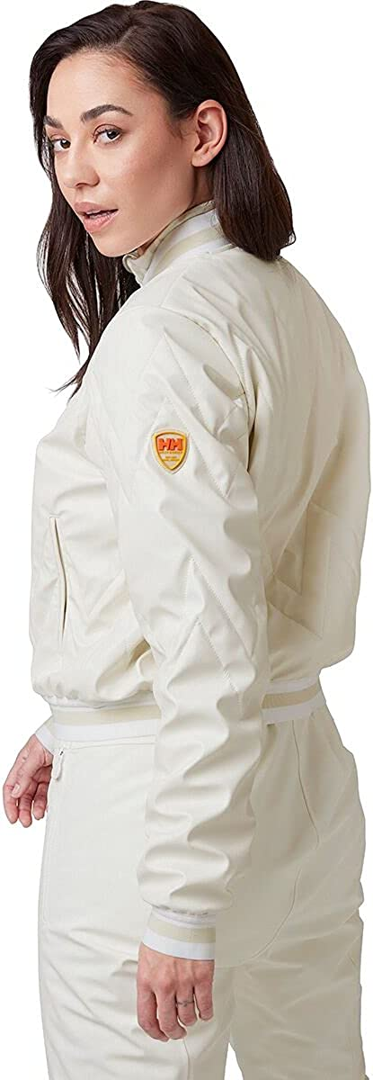 Helly-Hansen Womens Tricolore Quilted Insulator Jacket, 047 Snow, X-Large