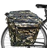 ASANMU Borsa per Bicicletta Multifunzionale, Outdoor Sport Impermeabile Borsa Bicicletta, Borsa per Bicicletta Ripiano Impermeabile Bicicletta, Doppia Borsa per Mountain Bike, Bici da Corsa Outdoor