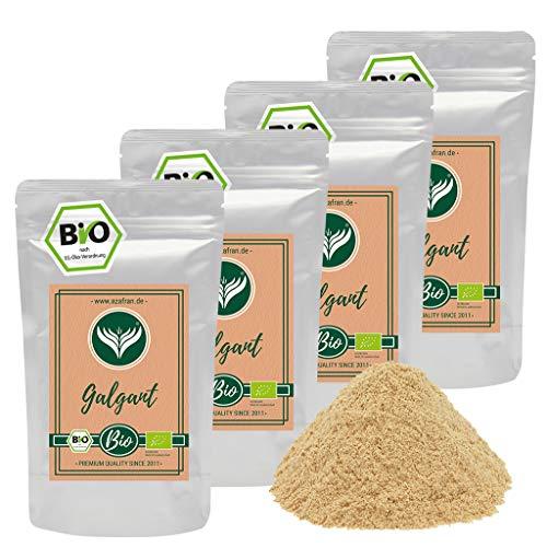 Azafran BIO Galgant Wurzel gemahlen (Pulver), Galgantpulver 1kg