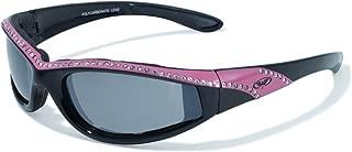 Eyewear Marilyn 11 Ladies Riding Glasses with Flash Mirror Lenses