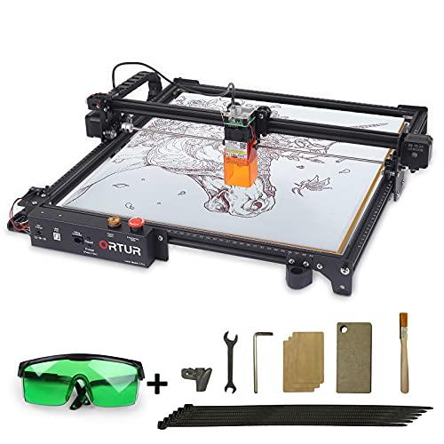 Ortur Laser Master 2 Pro Laser Engraver CNC 10000mm/con MCU a 32 bit + Circuito 24V/Firmware Serie 1.5/LU2-4 Modulo Laser FAC di Seconda Generazione a Fuoco Fisso