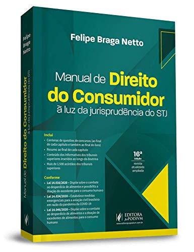 Manual De Direito Do Consumidor -a L.j.stj-16ed/21