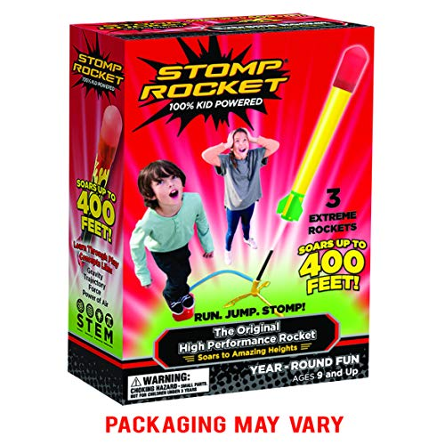 Stomp Rocket 365020 - Stomp Rocket High Performance - Druckluftrakete