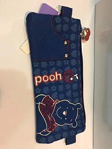 astuccio bustina con zip winnie the pooh