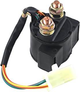 XooLoon Universal Starter Solenoid Relay Switch for Yamaha GRIZZLY 600 YFM600 595cc Engine 1998-2001 /GRIZZLY 125 YFM125 2004-2012 ATV/XV 500 750 920 VIRAGO 1983