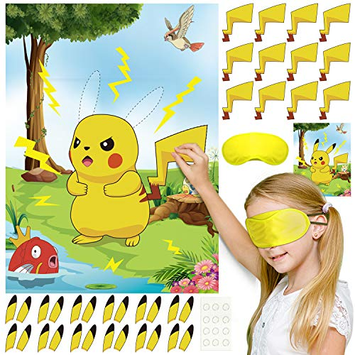 FEPITO Pikachu Kids Party Game, ...