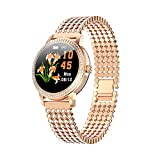 Mogzank Reloj Inteligente para Mujer Precioso Reloj Deportivo de...