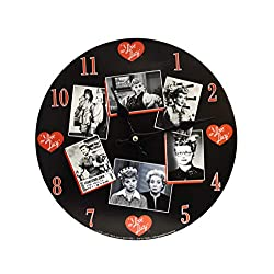 Midsouth Products I Love Lucy Clock (I Love Lucy - Black and White Photos)
