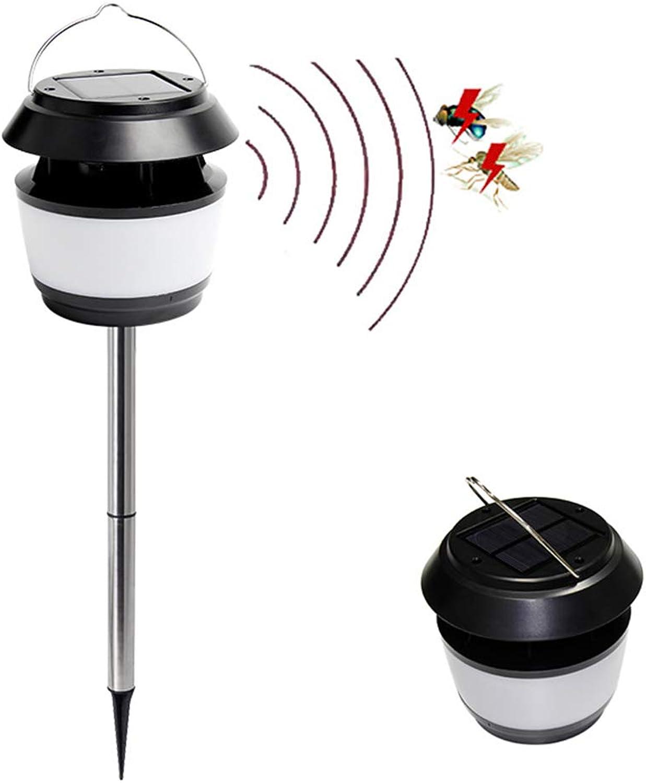 ZHEDAN Moskito Ttungen,ultraschall Insektenschutzmittel,solarbetriebene Straenlaterne,mit Mückenschutzlampe & Auenlichtfunktion,für Drauen