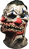 Rubie's Adult Overhead Latex Mask, Siamese Clown