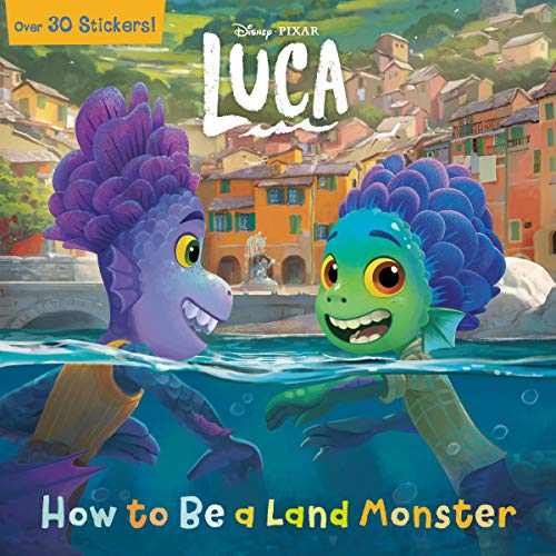 How to Be a Land Monster (Disney/Pixar Luca) (Pictureback(R))