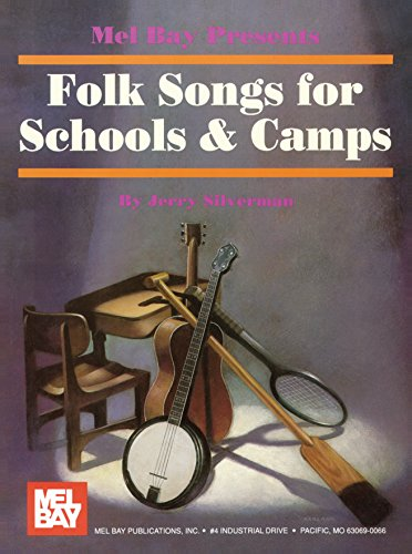 Folk Songs for Schools and Camps Book (English Edition)