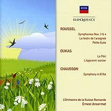 Roussel: Symphonies Nos. 3 & 4 / Dukas: La peri, L'Apprenti sorcier / Chausson: Symphony in B Flat
