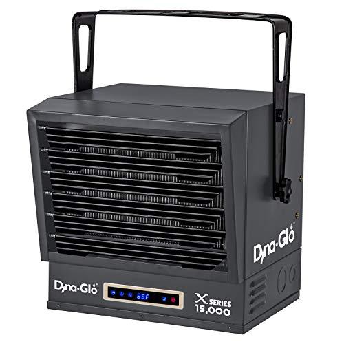 Dyna-Glo Dual Power 15,000W Electric Garage Heater, Black