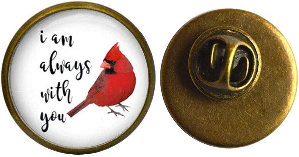 Cardinal Pin - Red Jewelry Brooch Resin Portland Mall Cardina Many popular brands