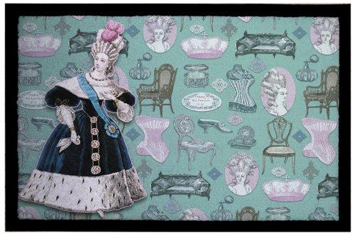 Rosalie bonbon Collection Rosalie 12 - Felpudo (40 x 60 cm, poliéster, Parte Trasera de PVC, Libre de ftalatos, impresión fotográfica)