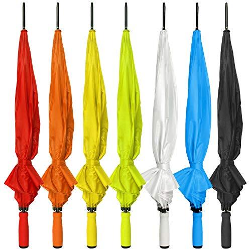 100 Stück hellgrüner Regenschirm Sunny Automatikschirm mit Druck Logo auf 1 Panel 1-farbig