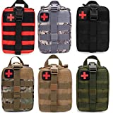 (Cp) - FIRECLUB Compact Tactical Molle Rip-Away EMT Medical First Aid Utility Pouch