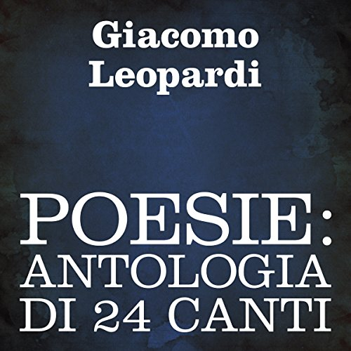 Poesie: Antologia di 24 canti [Poetry: A 24-Poem Anthology] cover art