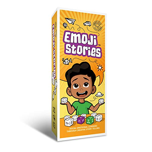 Social Emotional Games for Kids Emoji Stories | Activity for Classroom | Best Cubes Game for Social Emotional Learning Through Creative Story Telling | After School Activity | Creative Story Telling