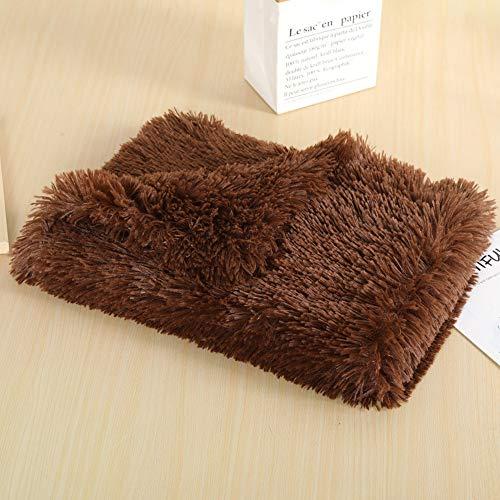 ZWBTY - Manta para cama de perro o gato, felpa, suave, para perro, gato, manta de piel esponjosa, reversible de doble capa, lavable, multiusos, colcha, funda de sofá, calentar 56*36cm B9.