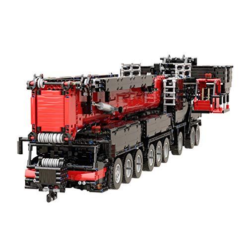 MAJOZ0 7068 Teile Technik Liebherr Raupenkran, 2.4Ghz Ferngesteuert Technic Raupenkran, Technik Crane Bausteine Bausatz Kompatibel mit Lego Technik