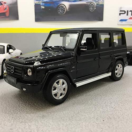 Mercedes G-Klasse, schwarz, 0, Modellauto, Fertigmodell, Welly 1:24