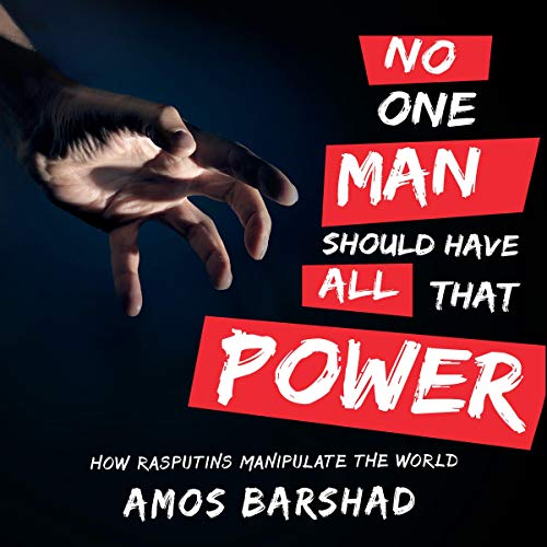 No One Man Should Have All That Power audiobook cover art
