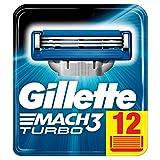 Gillette Sensor Excel Lames de Rasoir Pour Homme - 12 Recharges