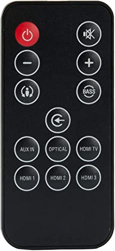 Remote Control for JBL Cinema SB400 Soundbar for JBL Cinema SB200 60-Watt Soundbar for JBL Cinema SB100