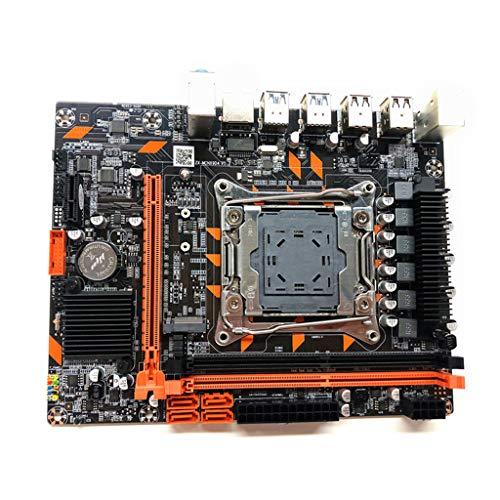 zhiwenCZW 6,69 x 8,27 Zoll 100% brandneues X99-Motherboard LGA2011-3-Pin-Prozessor Computer-Motherboard DDR4-Speicher E5 2678 2690V CPU-Set