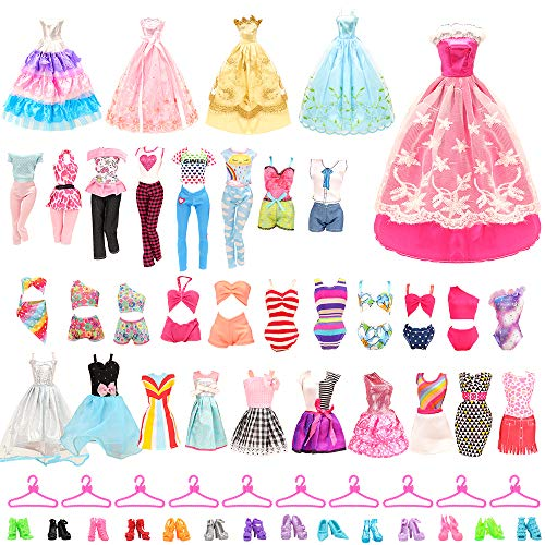 BARWA 36 Pack Doll Clothes and A...